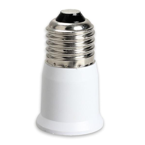 E27 a E27 Base de portalámparas Base de extensión CLF Bombilla LED Adaptador de lámpara Convertidor de portalámparas Convertidor de portalámparas Convertidor Iluminación de bombilla