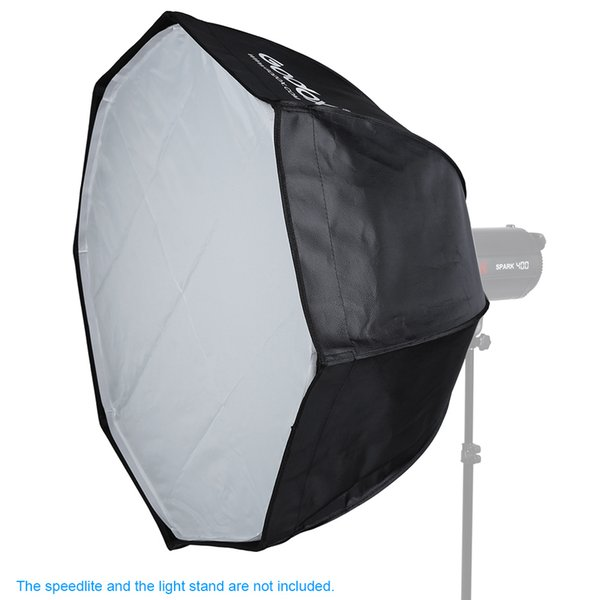 Freeshipping 80cm / 31.5in Bowens Mount Portable Octagon Honeycomb Grid Umbrella Softbox for Speedlite Flash Light
