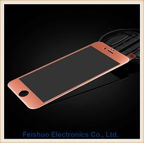 For Iphone 77plus Full Cover 3D Tempered Glass Screen Protector Curved Cover Edge 4 colors Ultra thin 0.26mm Factory Foam Pack--Four Color