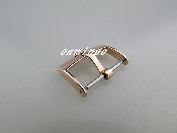 top popular 16mm 18mm 20mm Top-Grade rose gold Stainless Steel Watchband Strap Deployments Clasp Buckle For Rolex Watch 2020