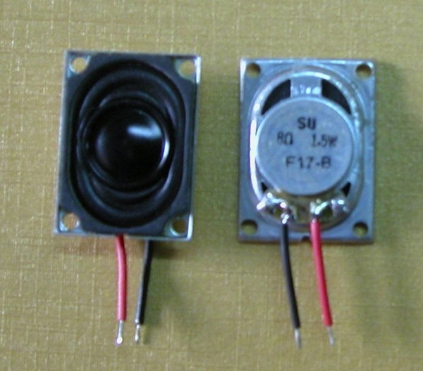 Wholesale- 2 pcs/pack 1.5W 8 Ohm Computer monitors Speaker LCD TV louderspeaker magnetic speakers flat-panel TVs good Audio sound