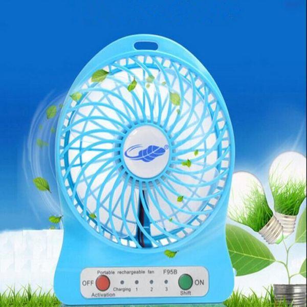 Mini Protable Fan blue