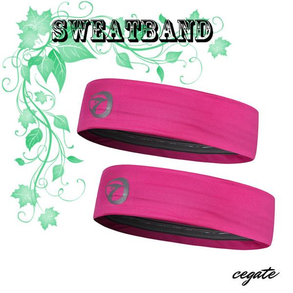 2016 Marca Moda Donna Uomo Sport Fascia Larga Elastico Hairband Unisex Elastico Sweatbands Yoga Palestra Capelli Testa spedizione Gratuita