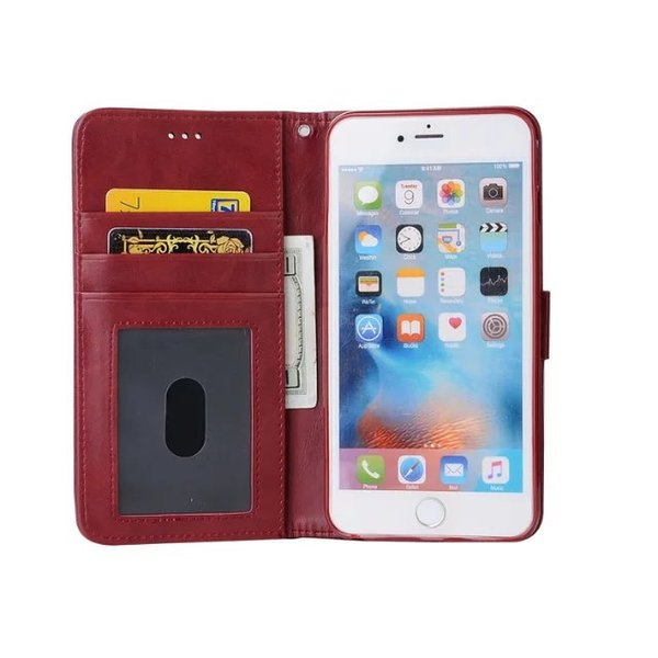 Detachable Magnetic Wallet Leather Case For Iphone 7 Plus I7 IPhone7 6 6S I6 Luxury Korea Style Cards Photo Frame Phone Pouch Cover 1pcs