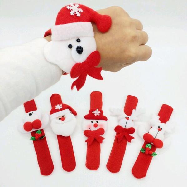Famoso Babbo Natale pupazzo di neve Giocattoli schiaffo pat cerchio  KT73