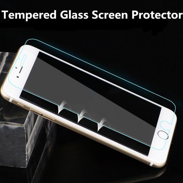 Для iPhone 8 протектор экрана закаленное стекло для Samsung S8 защитная пленка с розничной коробке для Samsung Примечание 8 iphone 7