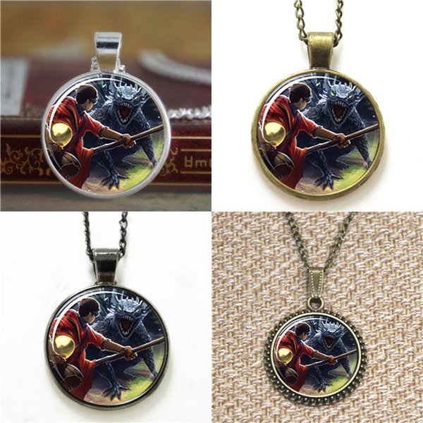 10pcs Harry and the Hungarian Horntail HP and the oblet of Fire Book Cover Glass Necklace keyring bookmark cufflink earring bracelet