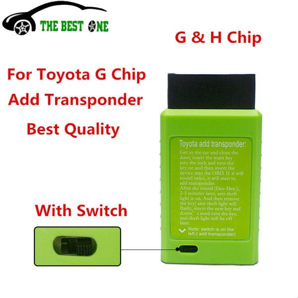 All'ingrosso-2016 per G e per H Chip Vehicle OBD programmatore chiave a distanza Il miglior programmatore chiave auto con una qualità eccellente