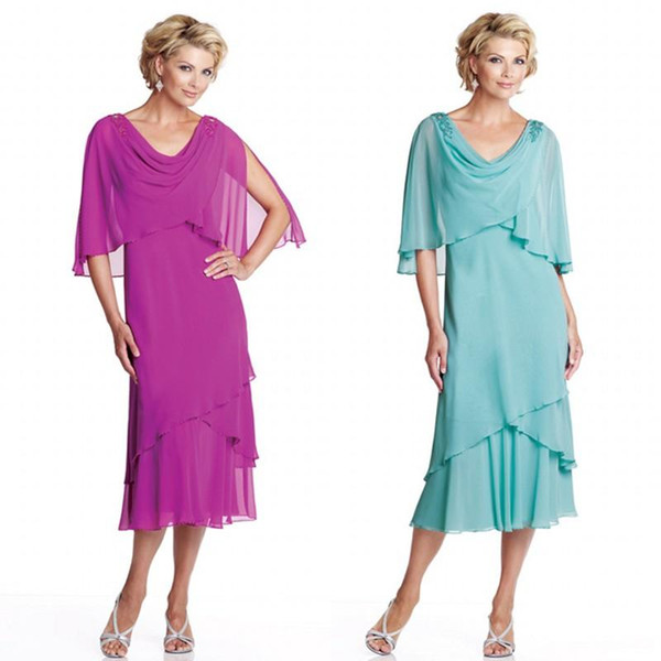Mother of the groom dresses for summer beach