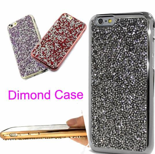 For iphone 7 plus iphone6 Samsung S7 6 5 Bling Bling Case Crystal Luxury Glitter Flash Soft Case iphone 6 S plus Diamond Case SCA133