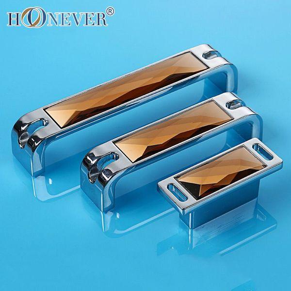 5pcs High end Crystal Door Handle Modern Luxury Hardware Kitchen ...