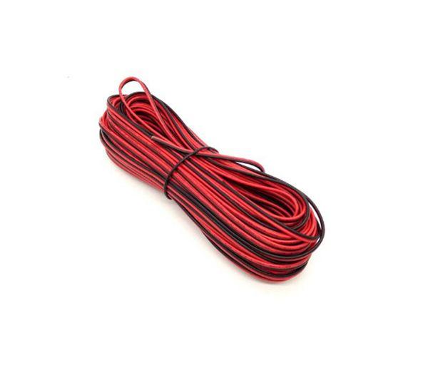 Großhandel 300M-elektrischen Draht Rot Schwarz Tinned Copper 2 Pin ...