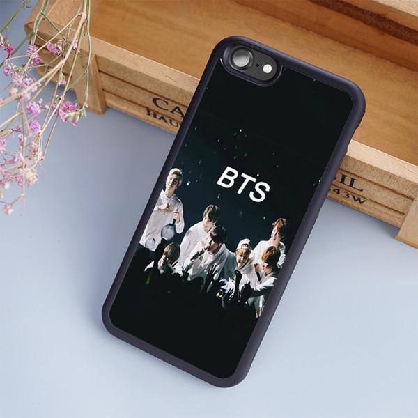 2016 Hot sale Unique bangtan boys bts cellphone Cases For iPhone 6 6S Plus 7 7 Plus 5 5S 5C SE 4S Back Cover