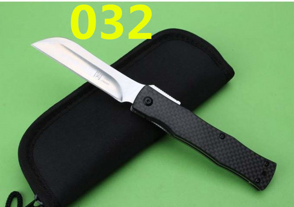 Newer recommended HIGONOKAMI 58-60HRC 2 modles folding knife camping hunting knife folding knife 1pcs free shipping