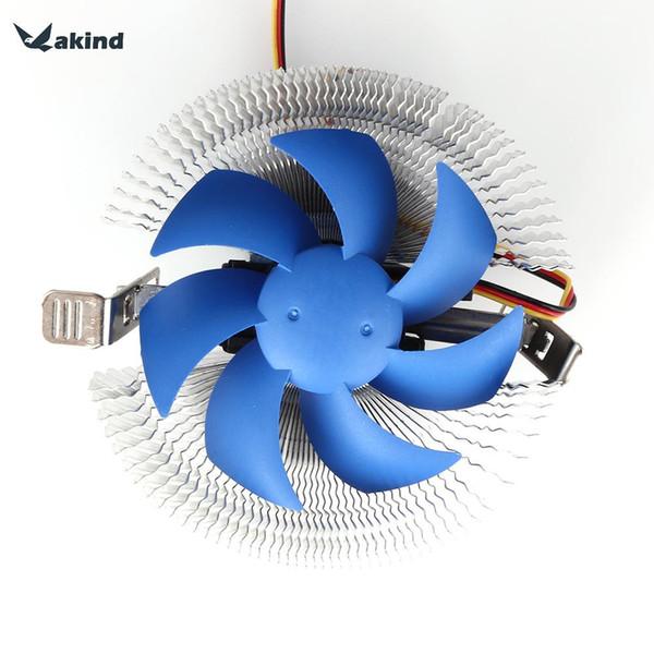 Wholesale- New Arrivel CPU Cooler Cooling Fan Heatsink for AMD / intel 775 1155 1156