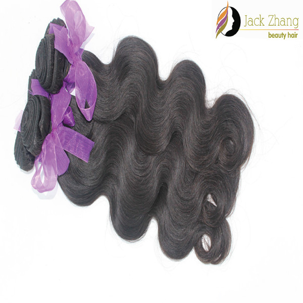 top popular Brazilian Hair Weave Body Wave Natural Color Malaysian Indian Peruvian Vietnamese Mongolian Non-remy Human Hair Extension 2pcs 3pcs 4pcs lot 2021
