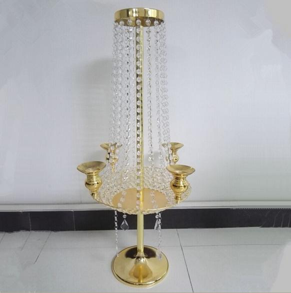 Table Top Decoration Big Elegant Fashion Large Table Top Crystal