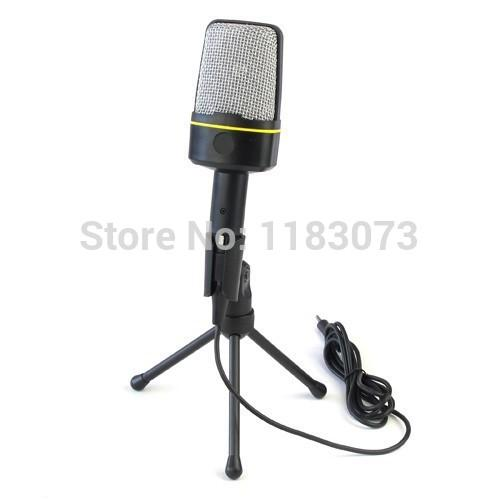 Condenser Microphone SF-920 for Laptop Notebook PC Computer Good Sound Easy To Use With Box Hot Selling Free Shipping