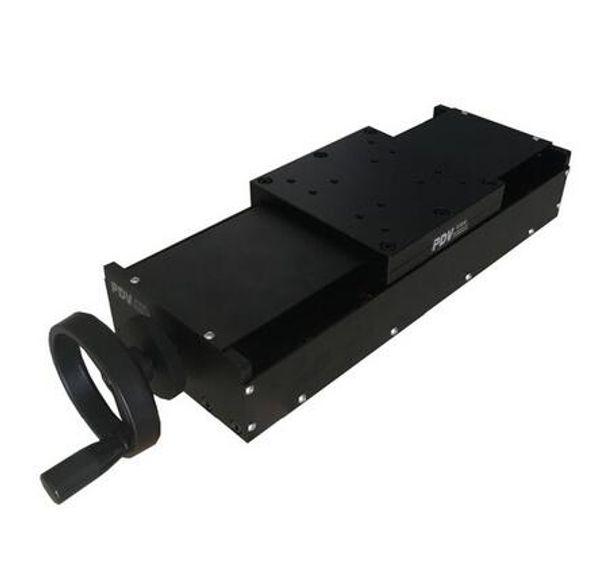 Этап оси PT-SD150G(50-300) X ручной линейный, ручная станция смещения, ручная платформа, перемещение 50-300mm