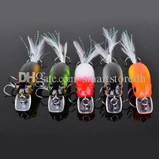 Lot 5Pcs Proberos #6 Black Hook Fishing Lures Crank Bait Tackle 6.5cm/10g F00351 CADR