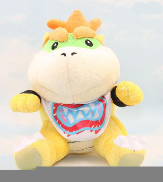 best selling EMS Super Mario Brothers Bowser JR Plush Doll toys 6inch plush children new Brothers Bowser JR soft Plush 15CM toy B