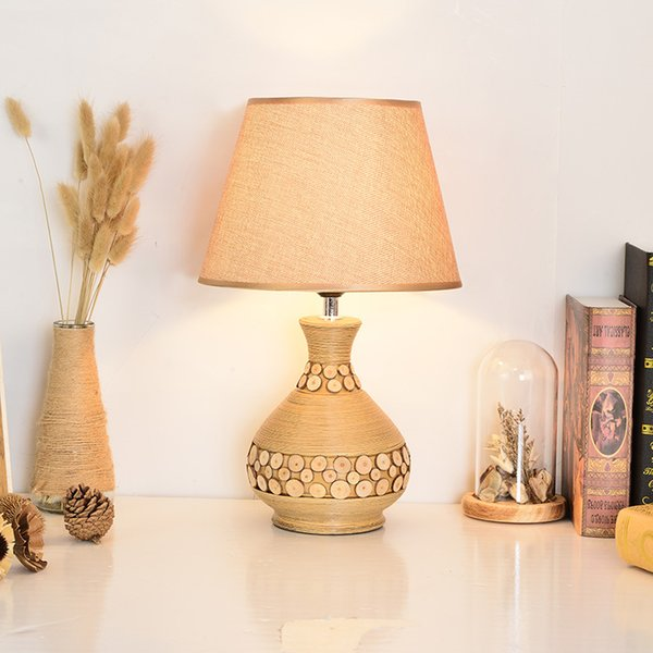 2019 Simple Ceramic Table Lamps Personalized Creative Study Lighting 220V  Bedroom Bedside Table Lamp Interior Lighting Factory Wholesale Lights From  ...