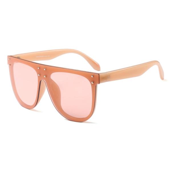 Orange Frame Pink Lens