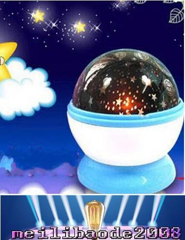 Zimmer Neuheit Nachtlicht Projektor Lampe Rotary Flashing Sternenhimmel Stern Projektor Kinder Kinder Baby geschenke MYY