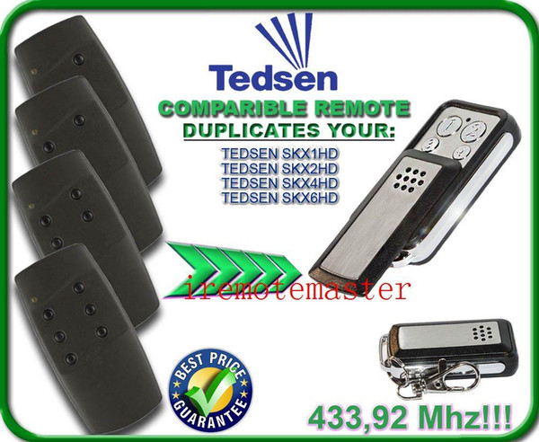 High quality for Tedsen SKX1HD/SKX2HD/SKX4HD/SKX6HD replacement remote control