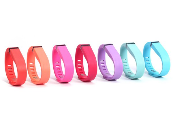 DHL Fast Ship Silicone Replacement Rubber Band with Clasp for Fitbit Flex Bracelet Wrist Strap High Quality 13 Colors
