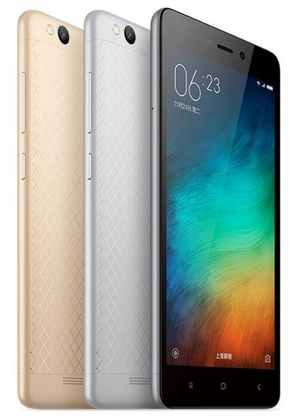 Оригинал Xiaomi редми 3 Сотовый телефон 32GB / 16GB окта Ядро Snapdragon 616 5.0