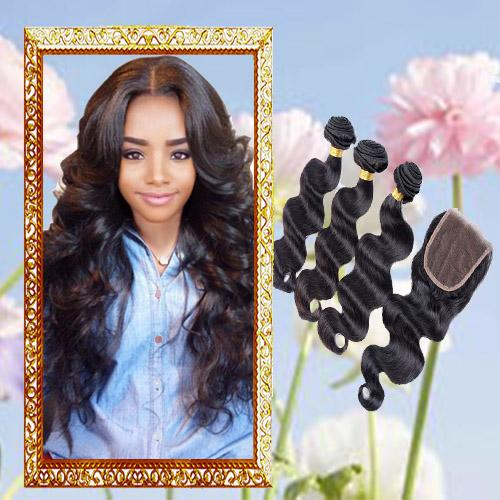 Peruvian Indian KINKY CURLY CHEAP Human hair bundle lace closure weaves closure blonde lace closure with bundles brazilian virgin hair
