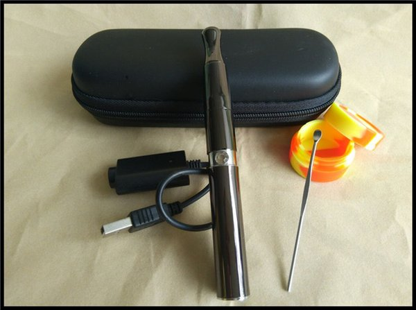 Magic wand vaporizer wax concentrate e solid burning device electronic cigarette starter kit wax smoking wax vaped pen cloud pen