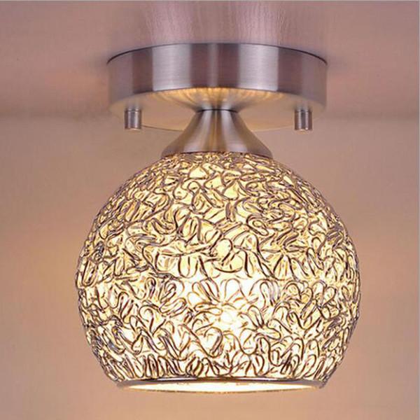 Mini creativo moderno lampadari lampade a soffitto in alluminio con lampadina a colori caldi per camera da letto e armadio nuovo arrivo