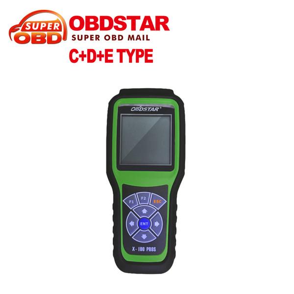Venta al por mayor-2016 Nueva llegada OBDStar Auto X100 PROS C + D + E modelo Programador dominante x-100 pros Herramienta de corrección del odómetro envío gratis
