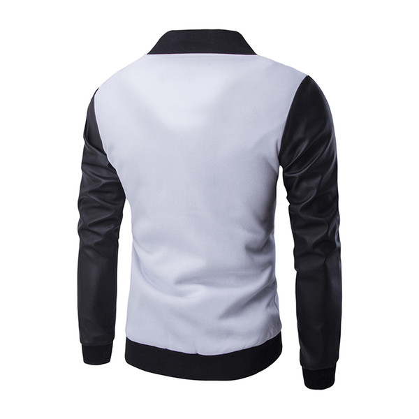 Blanc Mode Design Baseball Manteau Nouveau Acheter Veste Noir Hommes 57wpxqX