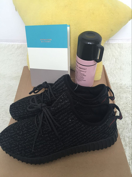 Kanye West Basketball Shoes Boots Pirate Black For Men Women Cheap Running Sports Shoes Size 11