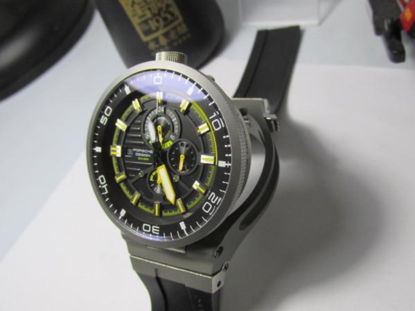 Novidade Removable watch racing cronógrafo esporte WORKING oversize 47mm homens relógio de pulso de quartzo relógios de bolso