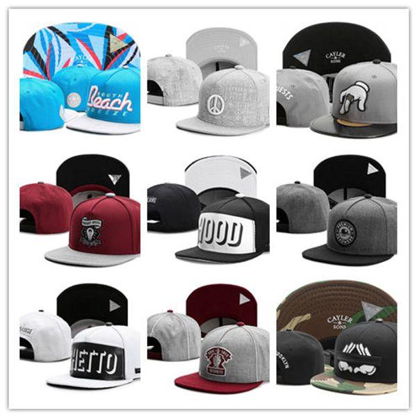 Good Quality New Fashion Cayler & Sons snapbacks Men's Women's Basketball caps All Team Football hats Hip Hop adjustable Baseball cap hat