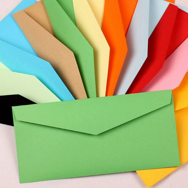 2018 wholesale envelopes paper envelopes 220 105mm color envelopes