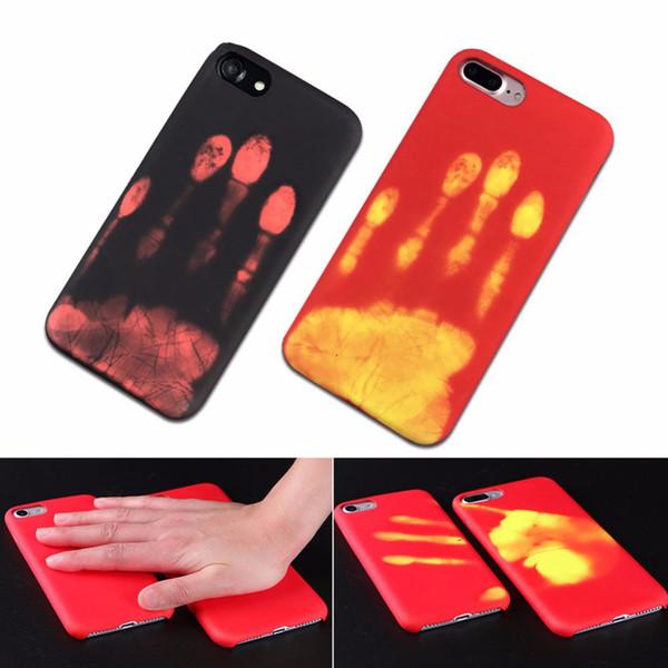 Per iPhone 11 pro XS max xr x 8 7 Plus 6 6s plus casi della copertura TPU sensibile al calore del cambiamento di colore di caso cover posteriore del telefono Fundas iphonex