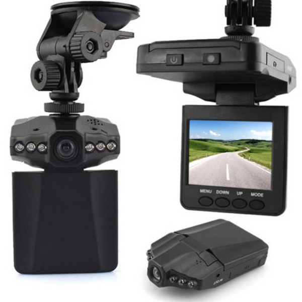 """best selling H198 2.5"""" HD Car Camera Recorder 6 LED DVR Road Dash Video Camcorder LCD 270 Degree Wide Angle Motion Detection High Quality~"""