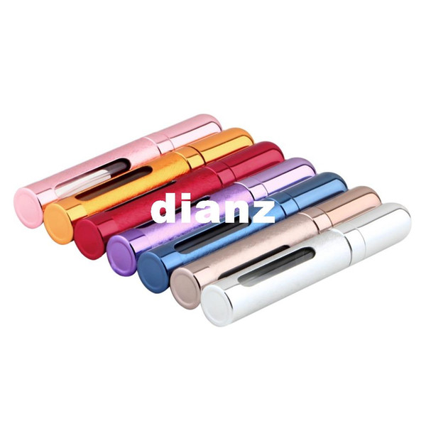 12ml Travel Mini Portable Refillable Perfume parfum Atomizer Spray Bottles Empty Bottles empty cosmetic containers