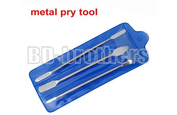 3 in 1 Three-piece Metal Pry Tool Crowbar Open Housing Tools Bar for iPhone iPad Tablet PC Phone LCD Screen Repair 100sets