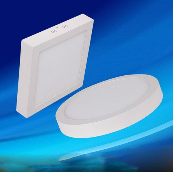 9W 15W 21W Round / Square Led Panel Light Surface Mounted Led Downlight Lighting Led Ceiling Spotlight AC 110-240V + Drivers