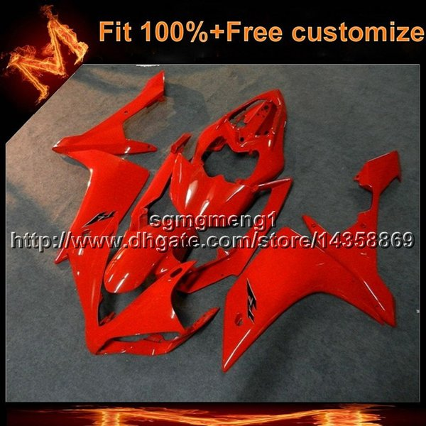 23colors+8Gifts aftermarket Injection mold RED motorcycle cover for Yamaha YZF-R1 2007-2008 07 08 YZFR1 2007 2008 07-08 ABS Plastic Fairing
