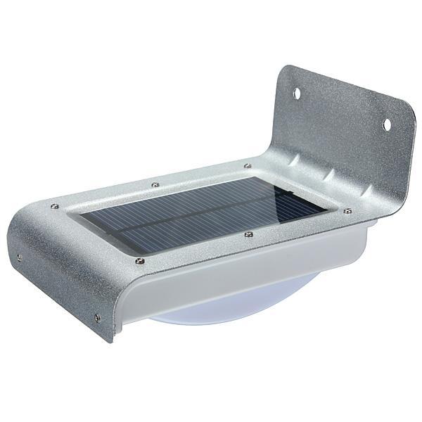 Wholesale-Big Promotion 16 LED Solar Power PIR Human Body Motion Sensor Lamp Waterproof Outdoor Garden Home Path Wall Light