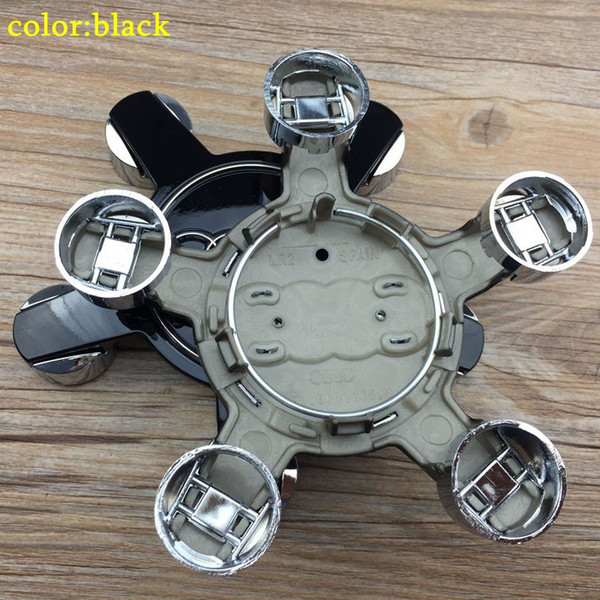 "best selling 135mm Center wheel Cap Hub Caps E1 5.25"" 4F0601165N 4F0 601 165 N Case For A3 A4 A5 A6 A7 A8 Q5 R8 S4 S5 S6 TT 2007-2013"