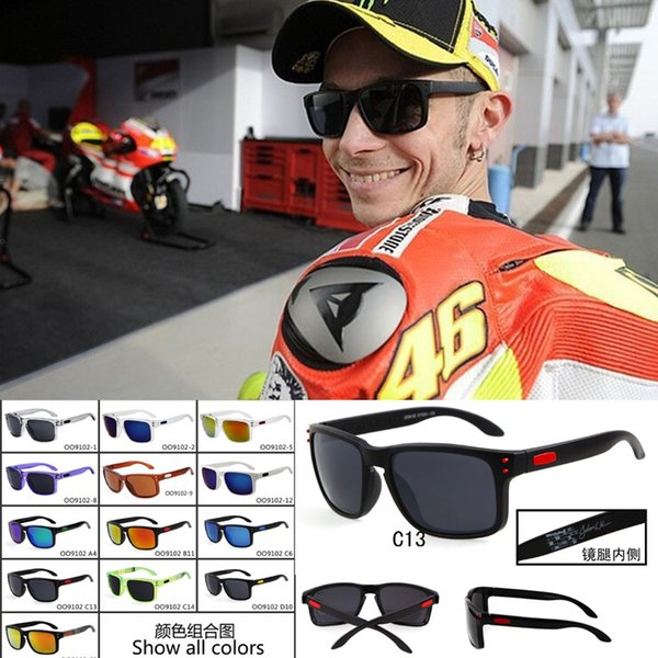 best selling Fashion Black Sun glasses VR46 Julian Wilson MotoGP Signature Sun Glasses Sports UV400 Oculos For Men 30Pairs Lot Free Shipping