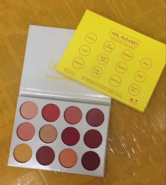 COLOURPOP Lidschatten 12 Farben ja, bitte! palatte Pressed Powder Shadow Palette auf Lager